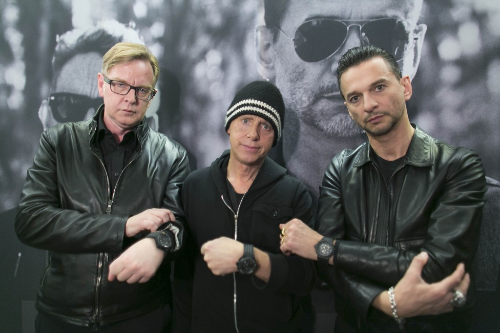 Depeche Mode joins Hublot watches for charity